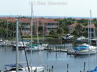 Burnt Store Marina.  Note Charlotte Harbor in the background.  (Clicking on the image will take you to the photo collection page)
