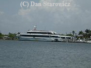 The Key West ferryboat (departs daily from Salty Sams Marina)
