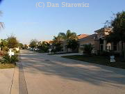 Example of a newer gated community street scene.  $200k+