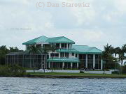 A very recognizable riverfront landmark to all boaters in the area.  High end residence on the river.