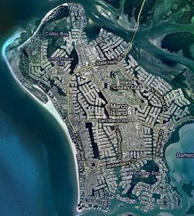 Clicking on this image will display all Marco Island, Florida Gulf access listings