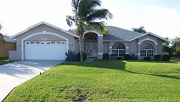 Example of a Cape Coral Gulf access waterfront home in the Surfside and Oasis neighborhoods
