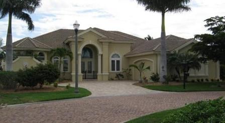 Unit 67 example home in Cape Coral, FL part of Tarpon Point Marina area